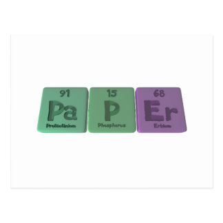 Paper-Pa-P-Er-Protactinium-Phosphorus-Erbium.png Postcard