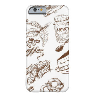 Paper pattern barely there iPhone 6 case