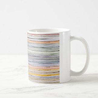 Paper pattern coffee mug
