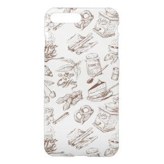 Paper pattern iPhone 8 plus/7 plus case