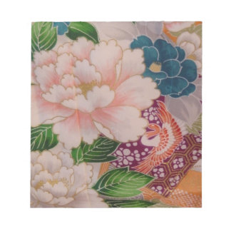 Paper Peonies from Japan Scratch Pads