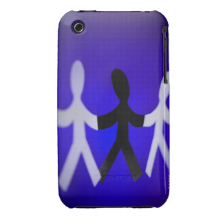 Paper people cutouts iPhone 3 covers