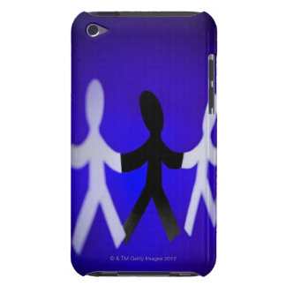Paper people cutouts iPod touch Case-Mate case