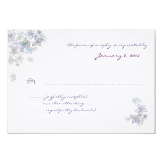 Paper Petals 3x5 Inch Artwork Reply Cards