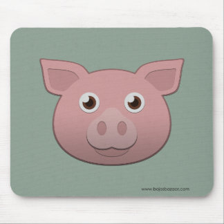 Paper Pig Mouse Pad