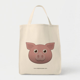 Paper Pig Tote Bag