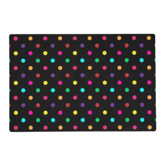 Paper Placemat Polka Dots
