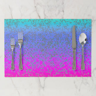 Paper Placemats Glitter Star Dust