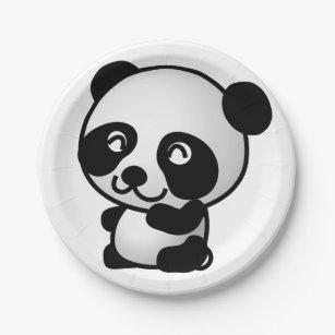 Paper Plane. Panda. Paper Plate  sc 1 st  Zazzle & Plane Plates   Zazzle