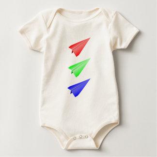 Paper Planes Baby Bodysuit
