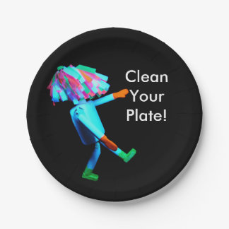 Paper Plate - Clean Your Plate