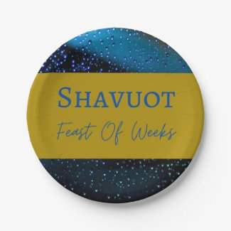 Paper Plate Eating Utensil Shavuot Feast Of Weeks