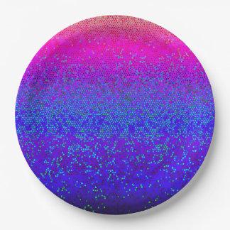 Paper Plate Glitter Star Dust