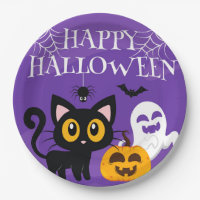 Paper Plate-Halloween Paper Plate