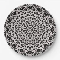Paper Plate Tribal Mandala G385