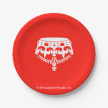 [Crown upside down]  Paper Plates 7 Inch Paper Plate