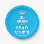 [Crown] be reem and read on!!!!!!  Paper Plates 7 Inch Paper Plate