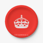 [Crown]  Paper Plates 7 Inch Paper Plate