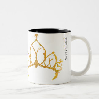 Paper Princess mug with quote