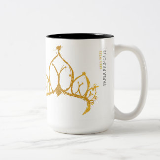 Paper Princess one-sided mug
