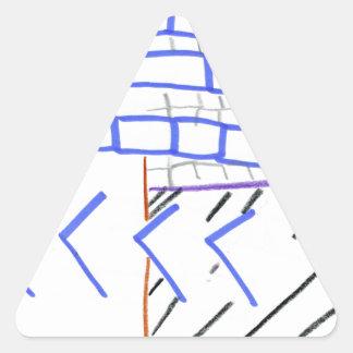 Paper Program Triangle Sticker