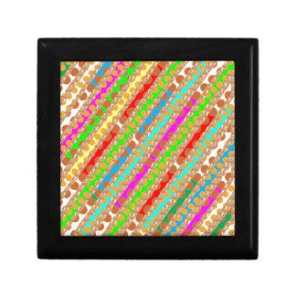 Paper Punch Strips PATCH ART by Navin Joshi Trinket Box