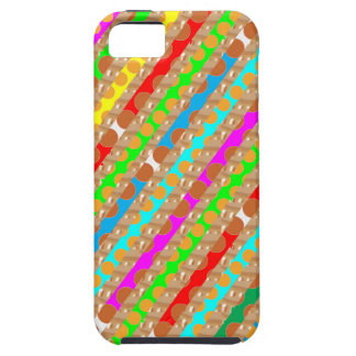 Paper Punch Strips PATCH ART by Navin Joshi iPhone SE/5/5s Case