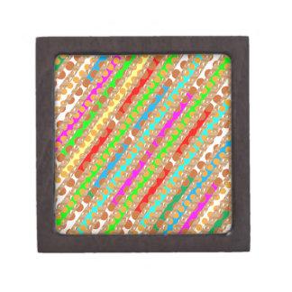 Paper Punch Strips PATCH ART by Navin Joshi Premium Trinket Boxes