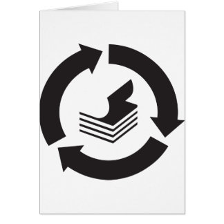 Paper Recycling Greeting Cards