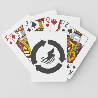 Paper Recycling Playing Cards