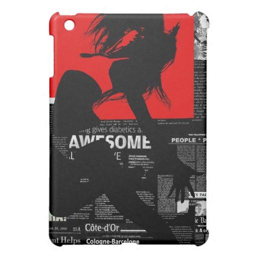 Paper red Flight iPad Mini Cases