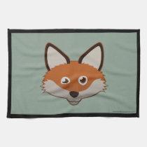 Paper Red Fox Kitchen Towels (3x)