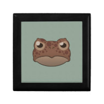 Paper Red Toad Hinged Gift Box