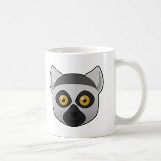 Paper Ring-Tailed Lemur Mug