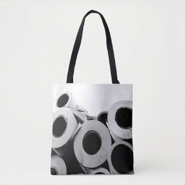 Professional Business Paper Rolls Cool Unique Tote Bag