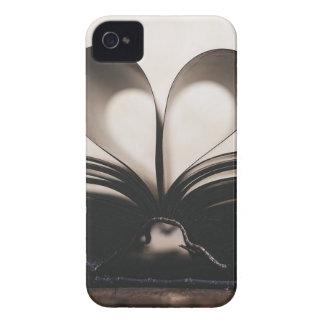 Paper Romance Symbol Valentine Love Book Day Old iPhone 4 Case-Mate Case