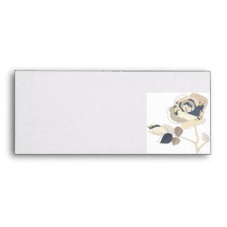 Paper Rose Enevelope Envelopes