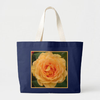 Paper Rose Golden Pink Canvas Bags