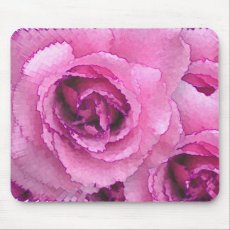 Paper Roses Mouse Pad