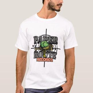 Paper Route Recordz Logo T-Shirt