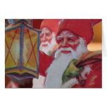 Paper Santa's Guiding Light Greeting Card