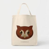 Paper Screech-Owl Tote Bag