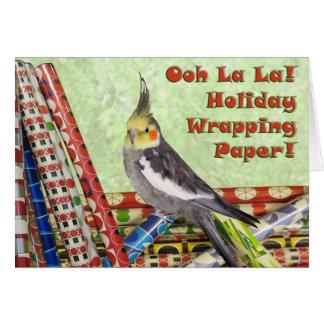 Paper Shredding Card