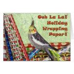 Paper Shredding Greeting Cards