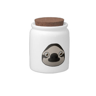 Paper Sloth Candy Jar