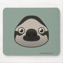 Paper Sloth Basic Mousepad