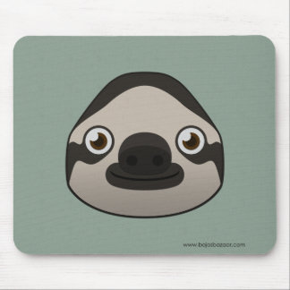 Paper Sloth Mouse Pad
