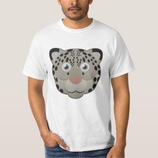 Paper Snow Leopard T-Shirt