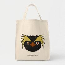 Paper Southern Rockhopper Penguin Tote Bag
