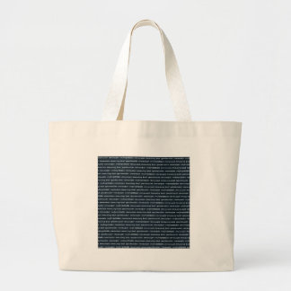 paper-spec NAVYBLUE TYPOGRAPHY MOTIVATIONAL SAYING Bag